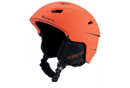 Casque de ski mixte CAIRN Orange ELECTRON U Orange Alerte Mat 59/60