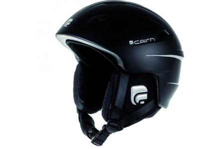 Casque de ski mixte CAIRN Noir Mat ELECTRON U Noir Mat 55/56