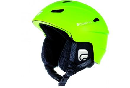 Casque de ski mixte CAIRN Vert ELECTRON U Vert Fluo Mat 55/56