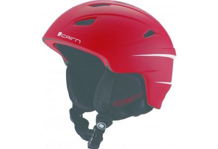 Casque de ski pour enfant CAIRN Rouge ELECTRON J Rouge Mat 54/55