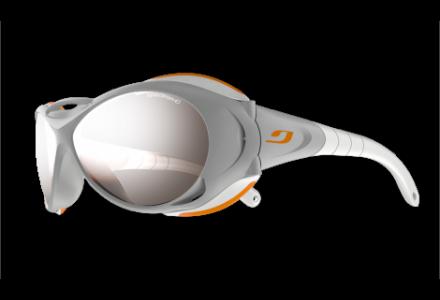Lunettes de soleil mixte JULBO Gris Explorer GRIS / Orange Spectron 4