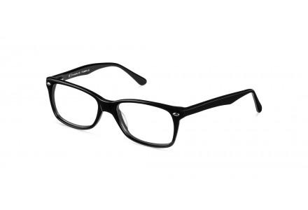 Lunettes de vue mixte MYMONTURE Noir ADAIR FR49 50/18