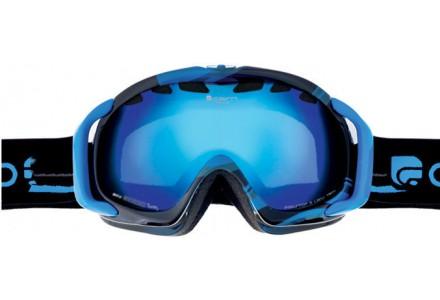 Masque de ski mixte CAIRN Noir FREEDOM Noir/Bleu Mat SPX 3000