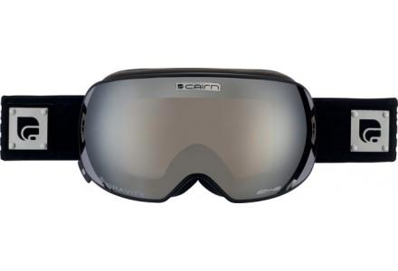 Masque de ski mixte CAIRN Noir Mat GRAVITY Noir Mat Argent SPX 3000