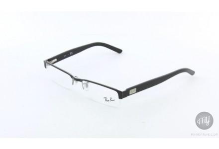 Lunettes de vue mixte RAY BAN Noir RX 6182 2502 53/17