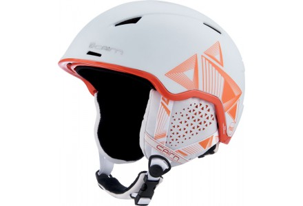 Casque de ski mixte CAIRN Blanc INFINITI Blanc Evolution Orange 56/58