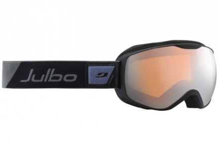 Masque de ski mixte JULBO Noir ISON DLX  Noir / Gris - Spectron 3+