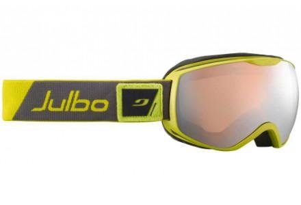 Masque de ski mixte JULBO Vert ISON DLX  Vert sombre / Vert - Spectron 3+