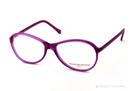Lunettes de vue pour femme FRANCOIS PINTON Violet KAPTURE 3 - SK66 VEE14 53