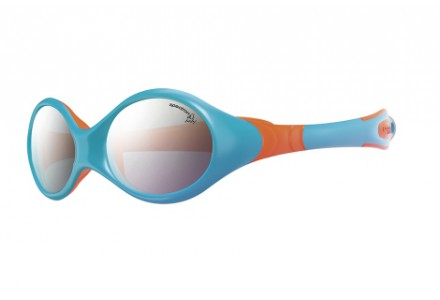 Lunettes de soleil pour bébé JULBO Bleu Looping 3 bleu ciel / Orange Spectron 4 baby