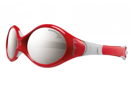 Lunettes de soleil pour bébé JULBO Rouge Looping 1 rouge / gris Spectron 4 baby