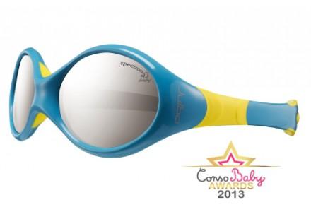 Lunettes de soleil pour bébé JULBO Bleu Looping 3 bleu / jaune Spectron 4 baby
