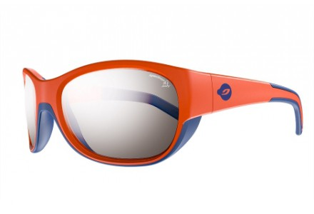 Lunettes de soleil pour enfant JULBO Orange LUKY Orange / Bleu cyan - Spectron 4 Baby