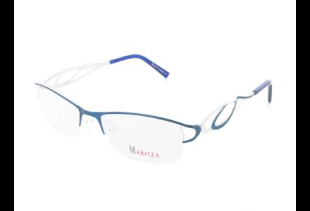 Lunettes de vue pour femme MARITZA Bleu M 0224 BLEU 53/17