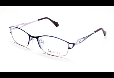 Lunettes de vue pour femme MARITZA Violet M 0236 VIOLET 52/18