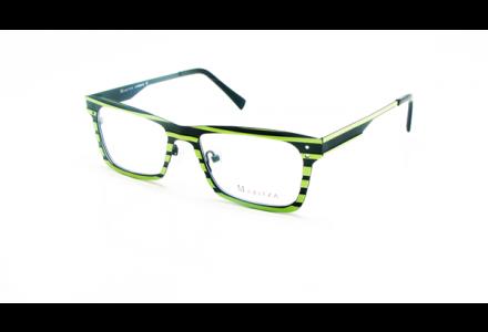 Lunettes de vue pour femme MARITZA Vert M 0257 NOIR / ANI 50/18