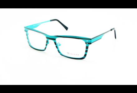 Lunettes de vue pour femme MARITZA Bleu M 0257 MARRON / TUR 50/18