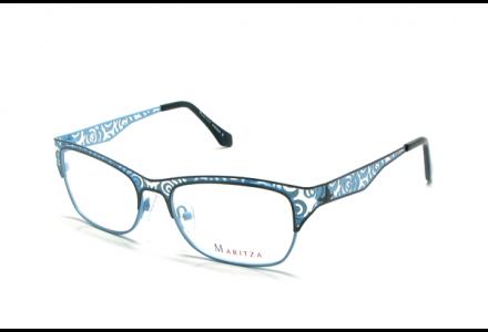 Lunettes de vue pour femme MARITZA Bleu M 0260 MARRON/BRB 54/17