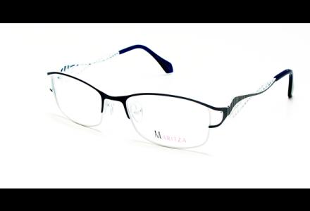 Lunettes de vue pour femme MARITZA Bleu M 0277 BLEU/MAR 52/17