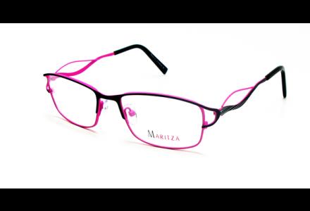 Lunettes de vue pour femme MARITZA Rose M 0278 NOIR/BLP 51/17