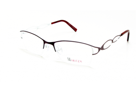 Lunettes de vue pour femme MARITZA Bordeaux M 0281 ROUGE/REW 52/18