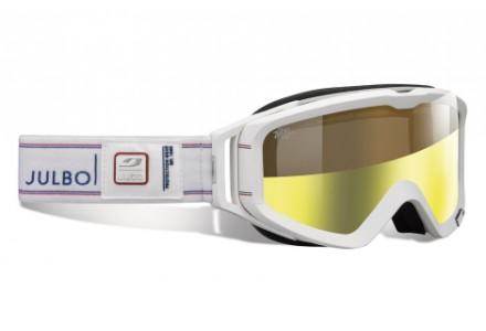Masque de ski mixte JULBO Blanc METEOR Blanc / Bleu / Rouge  Zebra Light