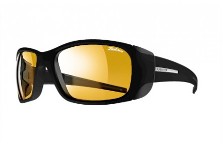 Lunettes de soleil pour femme JULBO Noir MonteRosa Noir mat / Noir - Zebra