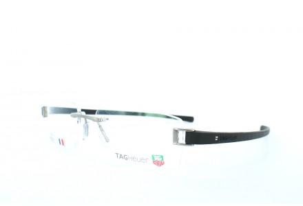 Lunettes de vue pour homme TAG HEUER Noir TH 7106 001 53/20 TRACK