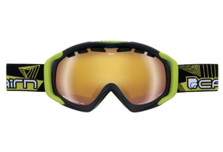 Masque de ski mixte CAIRN Noir Mat NEON Noir Mat Lemon SPX 3000 IUM