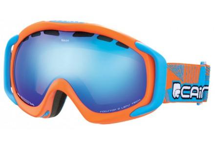 Masque de ski mixte CAIRN Orange NEON Orange Mat Turquoise SPX 3000 IUM