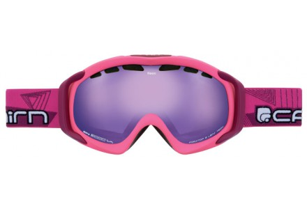 Masque de ski mixte CAIRN Rose NEON Rose Fluo Mat Cranbery SPX 3000 IUM