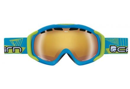 Masque de ski mixte CAIRN Bleu NEON Turquoise Mat Lemon SPX 3000 IUM