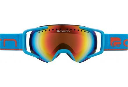 Masque de ski pour enfant CAIRN Bleu NEXT Bleu Mat SPX 3000