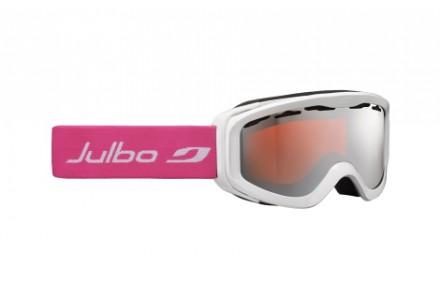 Masque de ski pour enfant JULBO Blanc NIX BLANC / Rose Spectron 3 Miroir