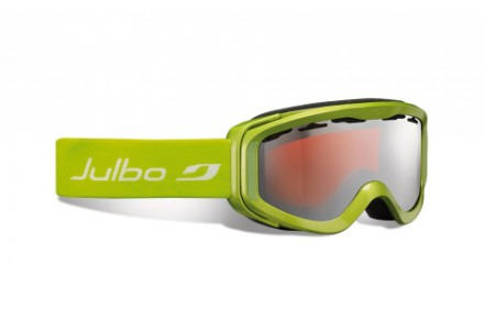 Masque de ski pour enfant JULBO Vert NIX VERT Spectron 3 Miroir