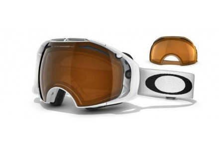 Masque de ski pour homme OAKLEY Blanc OO 7037 AIRBRAKE 57-459