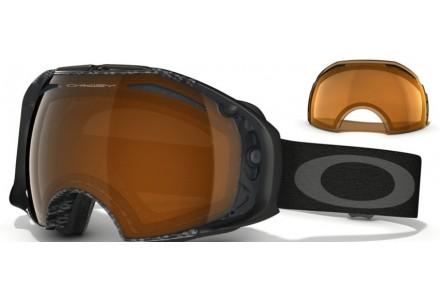 Masque de ski pour homme OAKLEY Noir OO 7037 AIRBRAKE 59-121