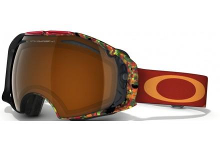 Masque de ski pour homme OAKLEY Rouge OO 7037 AIRBRAKE 59-483