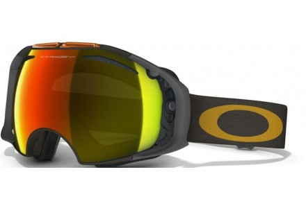 Masque de ski pour homme OAKLEY Noir Mat OO 7037 AIRBRAKE 59-490