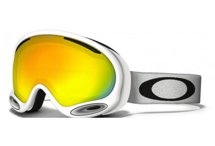 Masque de ski mixte OAKLEY Blanc OO 7044 A-FRAME 2.0 59-568