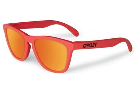 Lunettes de soleil pour homme OAKLEY Orange OO 9013 24-344 FROGSKINS 55/17