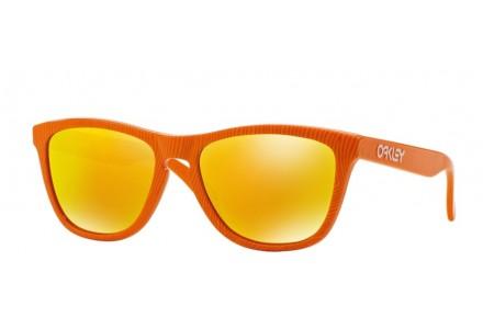 Lunettes de soleil pour homme OAKLEY Orange OO 9013-53 FROGSKINS 55/17