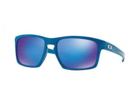 Lunettes de soleil pour homme OAKLEY Bleu OO 9262-17 SLIVER 57/18