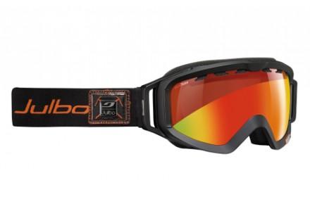 Masque de ski mixte JULBO Noir ORBITER Noir / Orange Snow Tiger