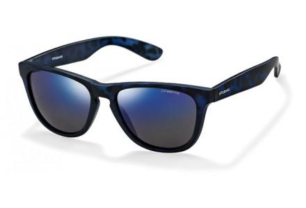 Lunettes de soleil pour homme POLAROID Bleu P 8443 FLL JY 55/18