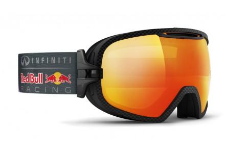 Masque de ski mixte RED BULL Noir PARABOLICA FIRE RACE 001S