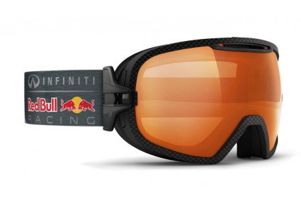 Masque de ski mixte RED BULL Noir PARABOLICA SUN RACE 002S
