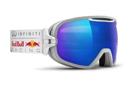 Masque de ski mixte RED BULL Blanc PARABOLICA SKY RACE 004S