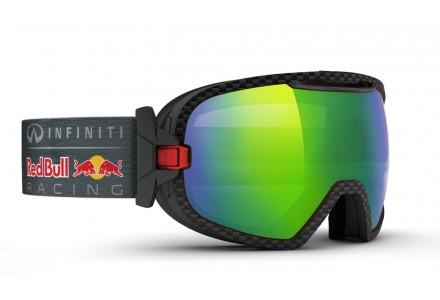 Masque de ski mixte RED BULL Noir PARABOLICA JUNGLE RACE 007S