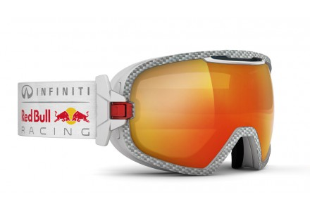 Masque de ski mixte RED BULL Blanc PARABOLICA FIRE RACE 008S
